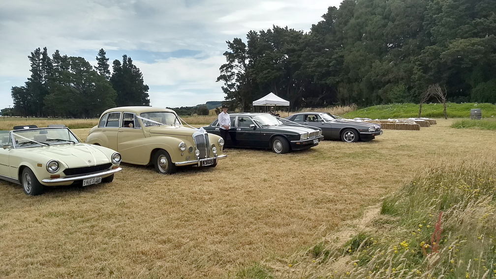 Classic Cars & Beautiful Wairarapa Wedding